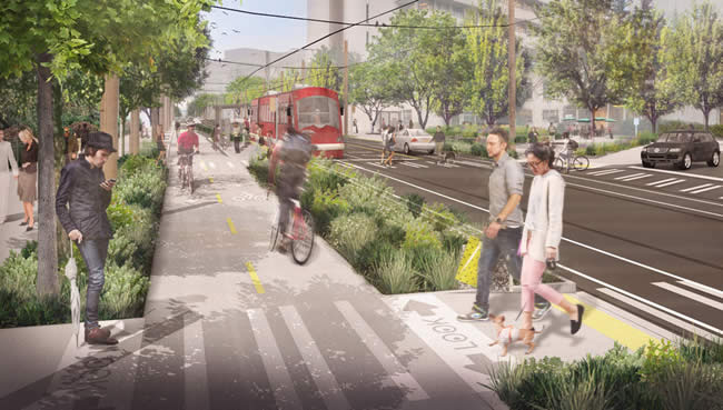 First Hill Streetcar Media ©Rendering by Mithun