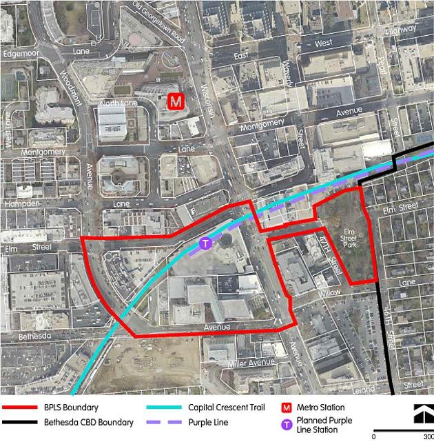 Montgomery Planning Community Based Planning Bethesda Purple Line