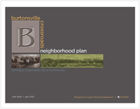 Burtonsville Crossroads Neighborhood Plan staff draft cover image