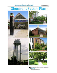 Cover of the recently published Glenmont Sector Plan