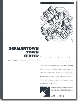 Germantown Town Center Design Study cover