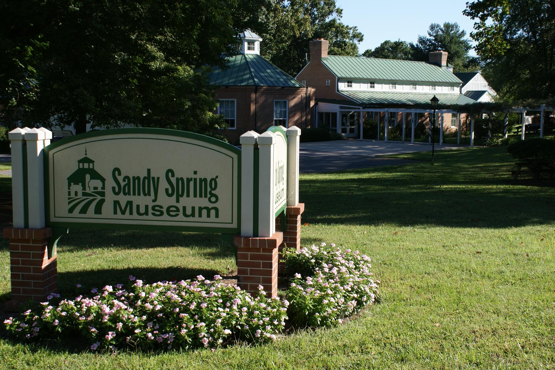 Sandy Spring map