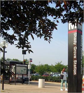 Metro bus station