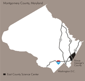 ECSC plan area locator map