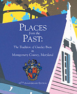 Places from the Past: The Tradition of Gardez Bien in Montgomery County book cover