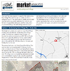 Sandy Spring Rural Village Market Analysis