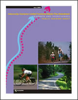 Bikeways and Interchanges report cover