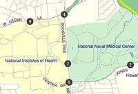 BRAC map