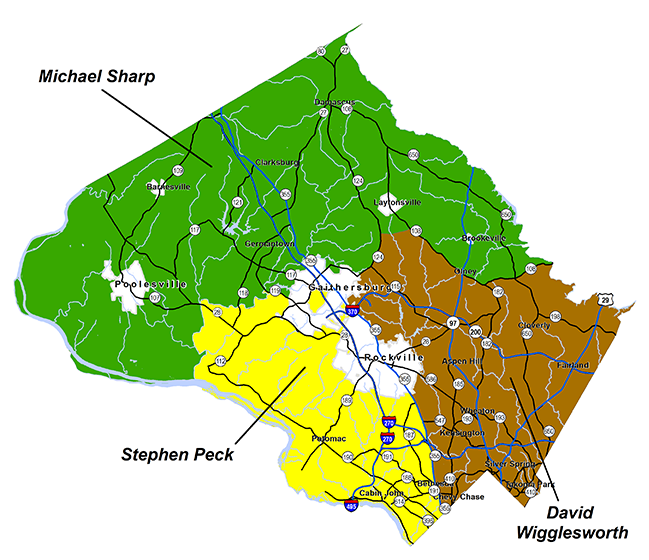 Forest Conservation Inspector Map