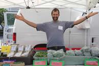 Vendor at Farm Market