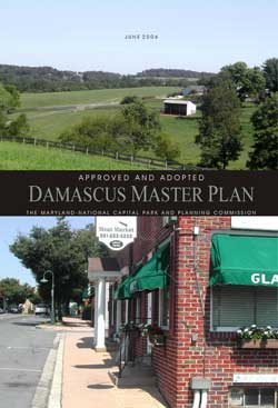 2006 Damascus Master Plan Cover