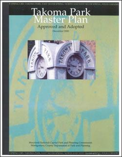Takoma Park Master Plan cover