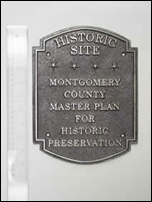 Montgomery County Historic Plaque